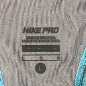 Nike Intimates & Sleepwear - Nike Pro Large Sports Bra Blue Workout Athletic L
